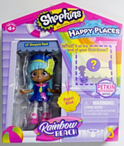 Shopkins Happy Places Rainbow Beach Lil' Shoppie Popsi Blue w/accessory - $10.95