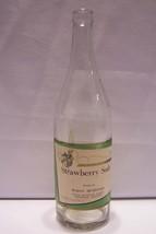 Strawberry Soda Bottle Waeco Beverages Union Bottling Ironwoood Michigan - $15.83