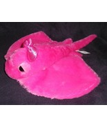 Aurora Girlz Nation Pink Stingray Sparkly Bow Plush Stuffed Animal Fish ... - $11.76