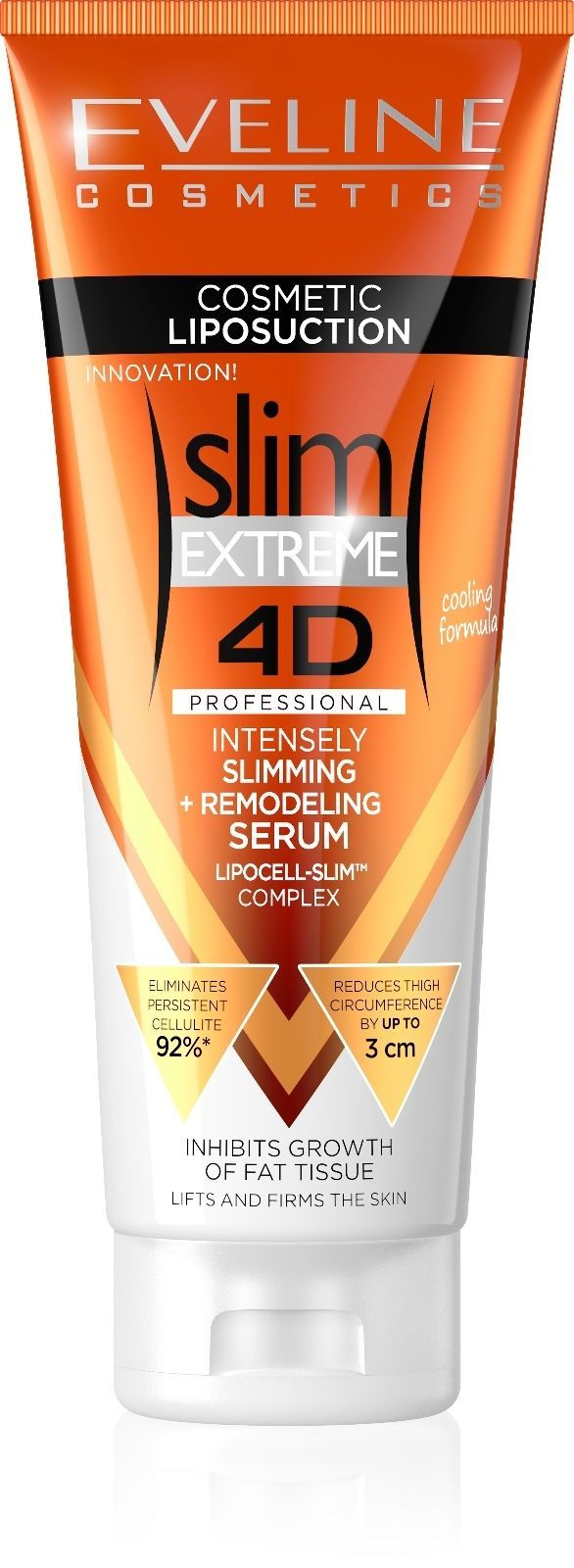 Eveline Cosmetics Slim Extreme 4D Cosmetic Liposuction Professional Cream