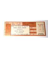 Unscaloped ticket to Barry Manilow Concert Ticket 1988 Unused Austin Texas - $4.95