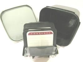 VINTAGE Tupperware Memory Mates Shutter Box Photo Recipe File Archive 22... - $35.31