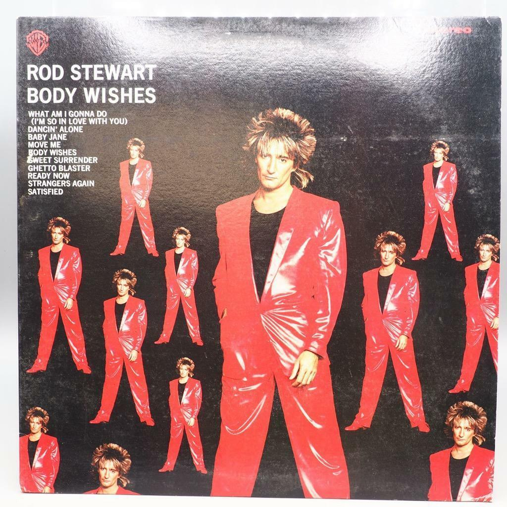 Vintage Rod Stewart Body Wishes Record Vinyle Album LP