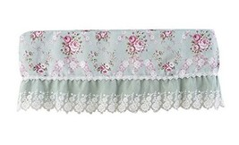 All-inclusive Air Conditioning Cover 1.5P Hanging Covers, Pastoral Florals Green - $18.33