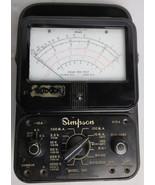 Multimeter Simpson 260 Vintage Overload Protection Volt Ohm Measurement ... - $85.50