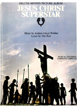 Jesus Christ Superstar Music Book Music by Andrew Lloyd Webber Lyrics by... - $4.95