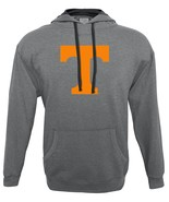 NCAA Tennessee Volunteers Men's Hood 50/50 Fleece Top, Gray, Large - $27.95