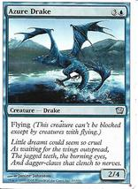 Magic the Gathering Card- Azure Drake - $1.00