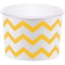 """School Buy Yellow 3 1/2"""" x 2 1/2"""" Paper Treat Cups/Case of 72 - $40.59"""