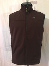 Men's Solaris Soft Shell Vest Size S Brown Outdoors Hiking Camping - $19.79