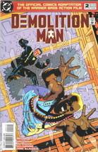 Demolition Man Movie Comic Book #2, DC Comics 1994 NEAR MINT NEW UNREAD - $4.50