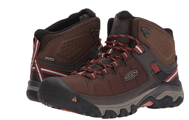 Keen Targhee EXP Mid Top Size 13 M (D) EU 47 Men's WP Hiking Boots Mulch 1017718