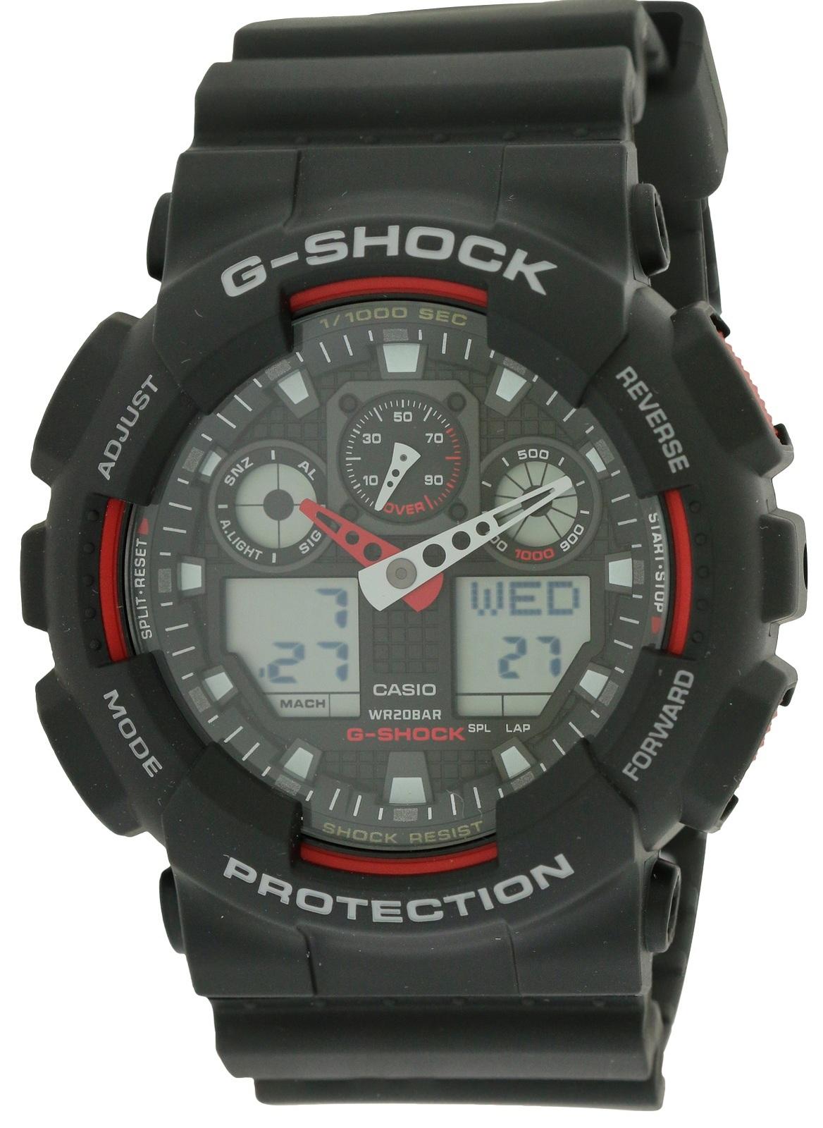 G-Shock Analog Digital Mens Watch GA100-1A4 - $63.90