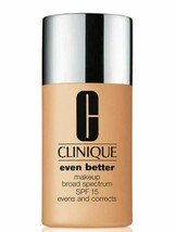Clinique Even Better Broad Spectrum SPF15 Foundation 28 WN 80 Tawnied Beige - $20.56