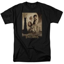 Lord of the Rings The Two Towers epic adventure film graphic tee LOR2000 image 1