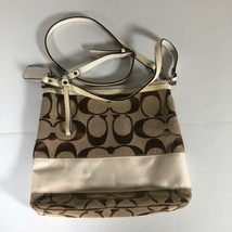 Coach Bag Handbag Canvas Monogram Women Cossbody - $39.99