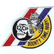 "8"" USN NAVY VF-2 BOUNTY TIME HUNTERS RED WHITE BLUE STRIPES EMBROIDERED ... - $23.74"
