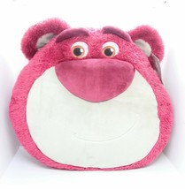 ATHUENTIC Toy Story 4 Lotso Bear Soft Fluffy Furry Plush Pillow - $23.74
