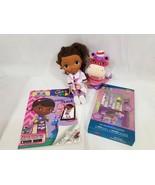 Disney doc mcstuffins Doll Plus Books Lip Balm kids Junior toys set mixe... - $23.27