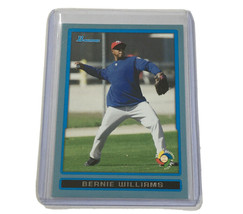Bernie Williams 2009 Bowman Blue Bdpw13 /399 - $2.99