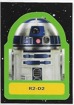 2017 Topps Star Wars Journey to The Last Jedi Retro Stickers #12 R2-D2 NM-MT RC  - $3.99