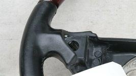 03-06 Porsche Cayenne 955 Wood/ Blk Leather 3 Spoke Steering Wheel 7L5419091 image 3