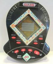 Vintage 1999 Monopoly Jackpot Pocket Slots Electronic Handheld Game by Hasbro - $12.86