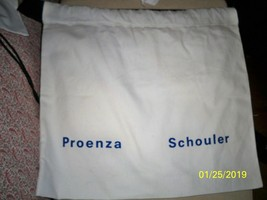 PROENZA SCHOULER Drawstring Dust Bag Purse Handbag Shoes Storage 17x17 - $24.74