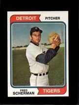 1974 TOPPS #186 FRED SCHERMAN EX TIGERS  *X7042 - $1.73
