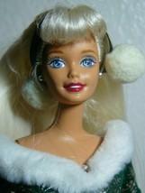 Barbie Christmas Festive Season 1997 Special Edition Green Dress 18909 M... - $15.84