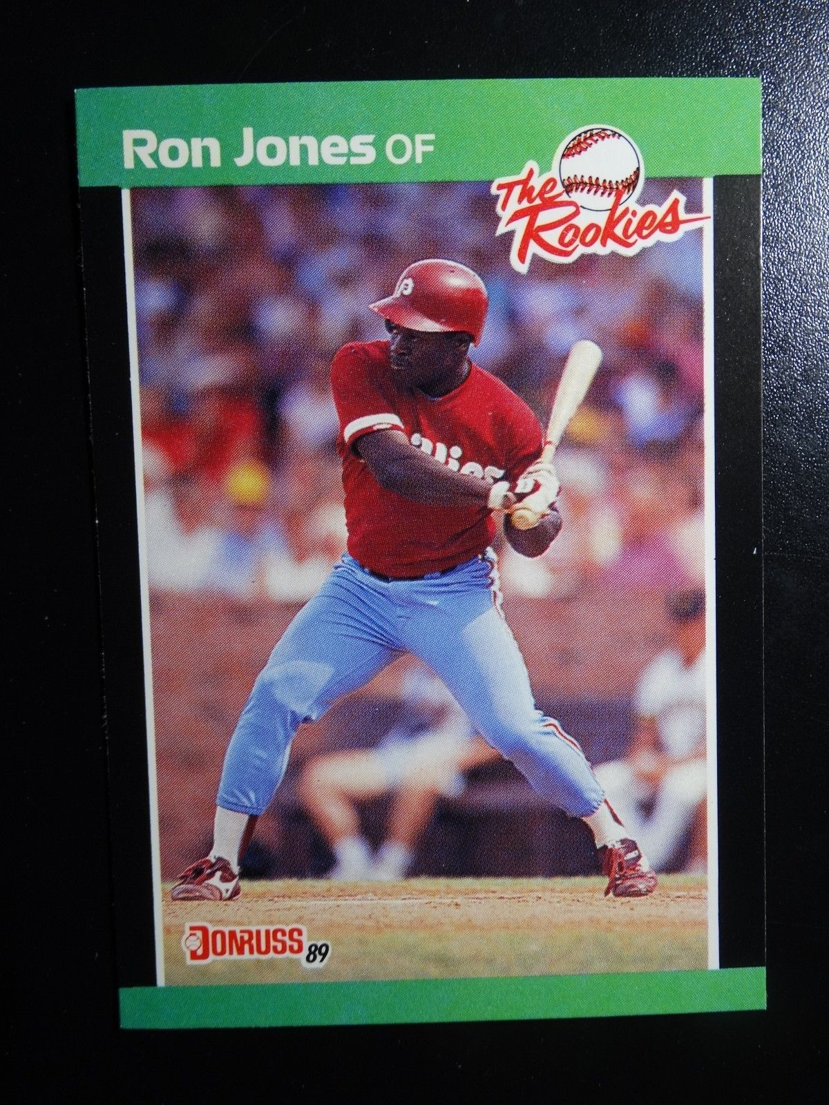 Primary image for 1989 Donruss Rookies #42 Ron Jones Philadelphia Phillies Baseball RC Rookie Card