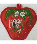 Vintage 1980 Strawberry Shortcake Hot Pad American Greetings Corp New Ol... - $26.97
