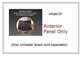 "Corflex 10"" Disc Unloader Anterior Panel Large/2X-Large - $42.99"