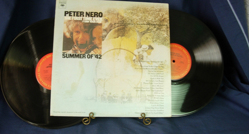 Peter Nero - The First Time Ever / Summer of '42 - Columbia CG 33624 -Double LP
