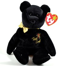 1999 TY Beanie Baby Original The End New Years Teddy Bear Beanbag Plush Toy Doll image 1