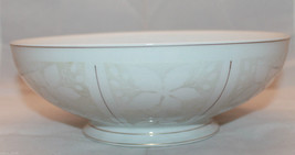 Rosenthal Germany White Velvet Gold Trim Round Vegetable Serving  Bowl L... - $80.92