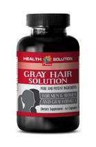 antioxidant essential caps - ANTI GRAY HAIR FORMULA 1350MG 1B - nettle e... - $13.98
