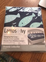 Lambs & Ivy Oceania Changing Pad Cover Ships N 24h - $26.17