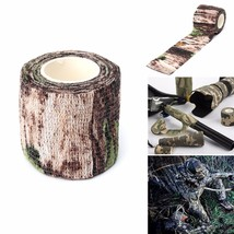 5CM X 4.5 Military Camouflage Camo Tape Stealth Wrap Hunting Camping Wat... - $9.71