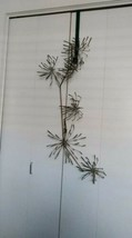 "Metal Flower Asters Wall Art Vintage 35"" H x 16"" W - $59.35"