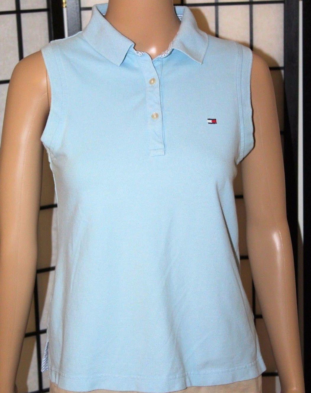 4e57905c Tommy Hilfiger Women's Small Blue Sleeveless and 50 similar items. S l1600