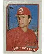 1989 Topps #772 Ron Oester Cincinnati Reds Baseball Card  - $2.44