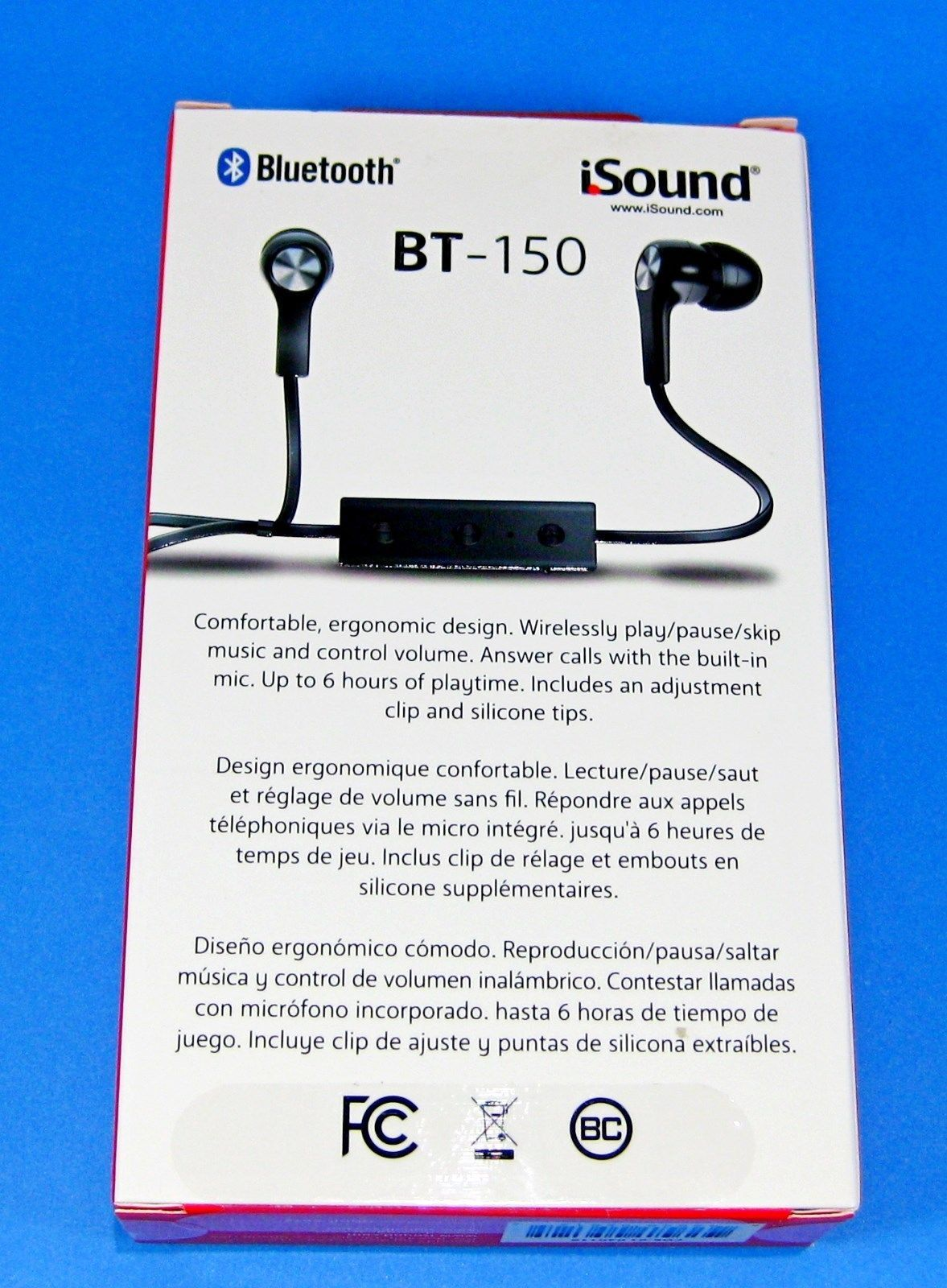 new wireless bluetooth work out earbuds earphones headset bundle set is150 b headphones. Black Bedroom Furniture Sets. Home Design Ideas