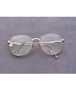 Prop Elosto Safilo Vtg Full Rim Metal Eyewear Retro Eyeglasses Glasses F... - $24.87