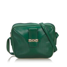 Pre-Loved Gucci Green Others Leather Crossbody Bag Italy - $568.64 CAD