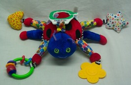 "Eric Carle COLORFUL LADYBUG 6"" Plush STUFFED ANIMAL STROLLER CRIB Toy - $16.34"
