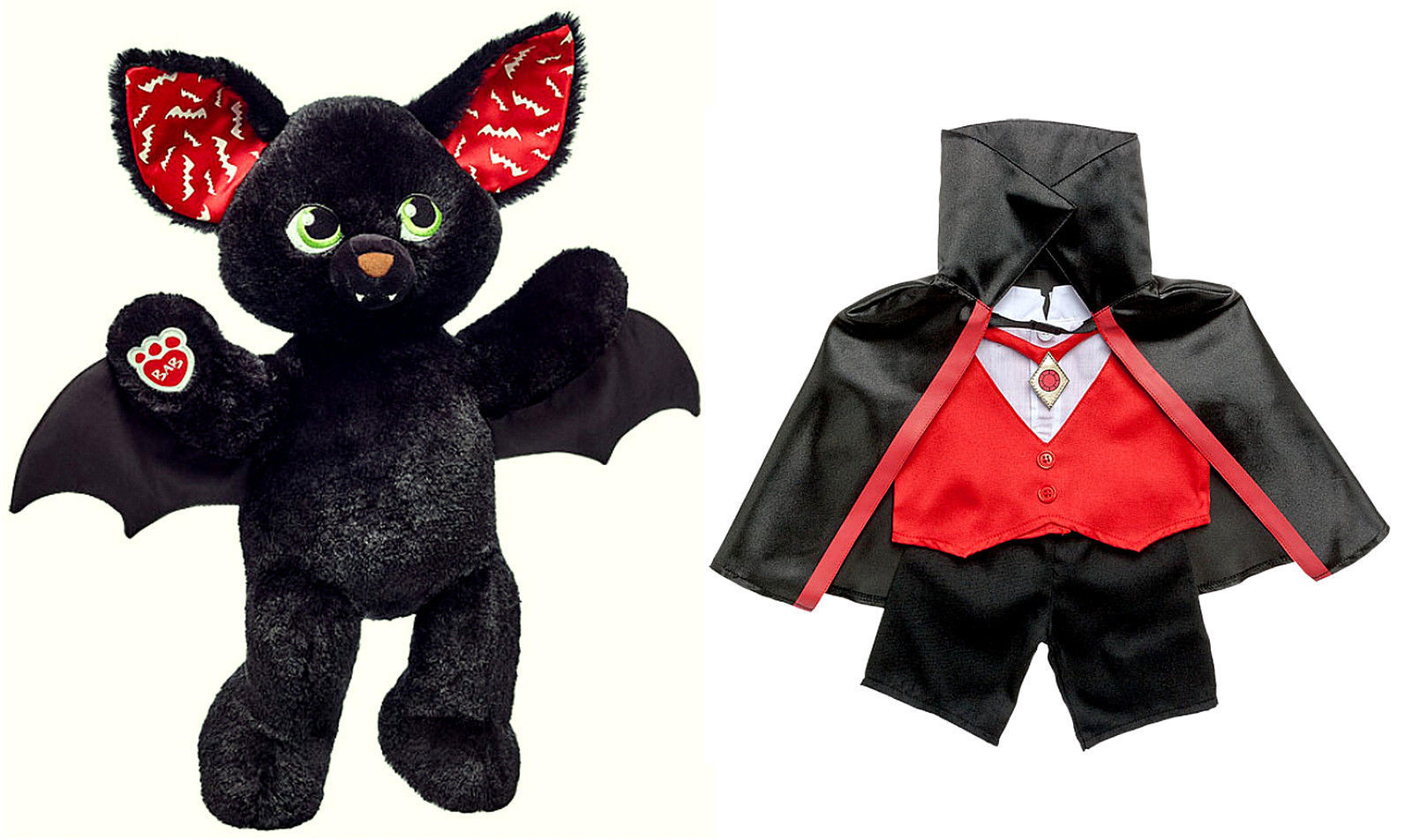 S l1600. S l1600. Build a Bear Halloween ...  sc 1 st  Bonanza & Build a Bear Halloween Boo-rrific Black Bat and 49 similar items