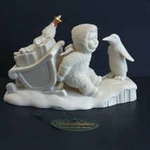 Dept 56 Snowbabies Stuck In The Snow 6806 Early Release 1998 Gold Star VTG - $36.58