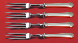 """Chippendale by Towle Sterling Silver Fruit Fork Set 4-Piece Custom Made 6"""" HH WS - $279.00"""