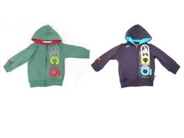 Infant Boy's Hoodie ECKO Baby Full Zip Hooded Sweatshirt Long Sleeve NEW